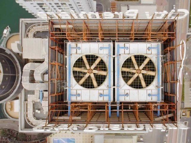 Corrosión en torres de enfriamiento HVAC