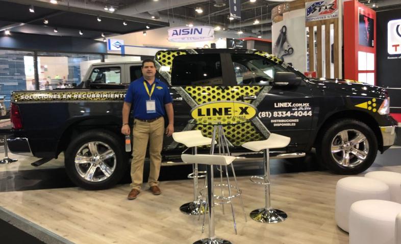 LINE-X genera expectativas positivas en la INA PAACE Automechanika México 2018