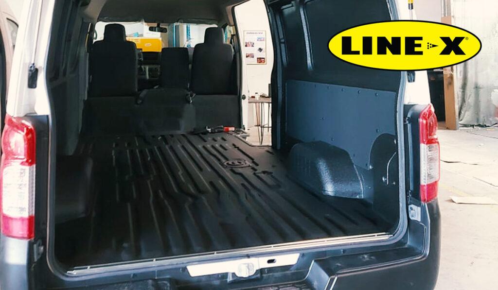 Camioneta de Carga con LINE-X