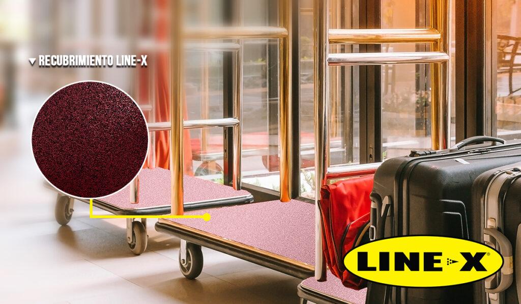 Carrito de Hotel con LINEX