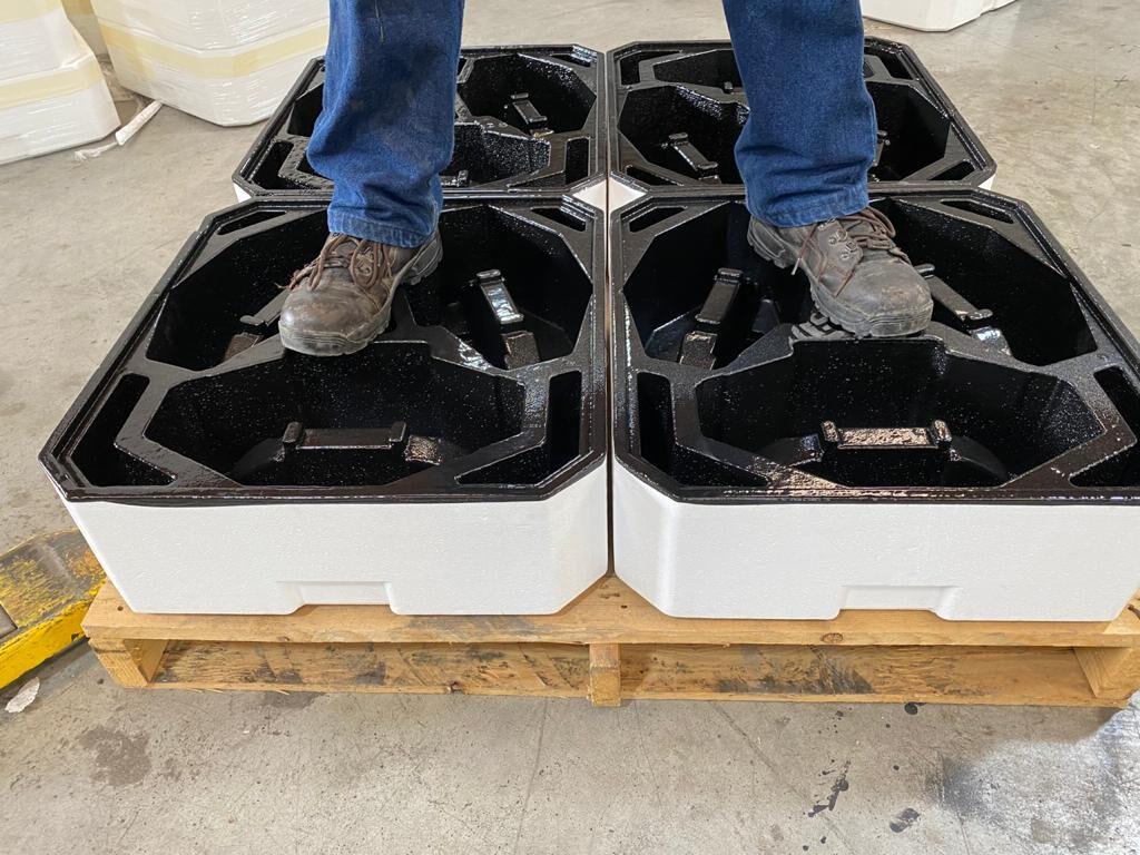 LINEX en cajas de Poliestireno