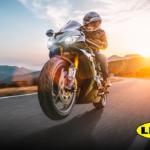 Motocicleta con LINE-X